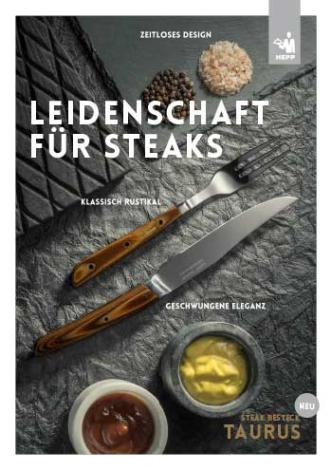 HEPP Steakbesteck TAURUS