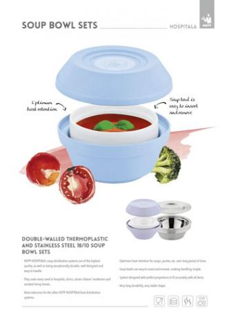 Hospitala soup bowl sets